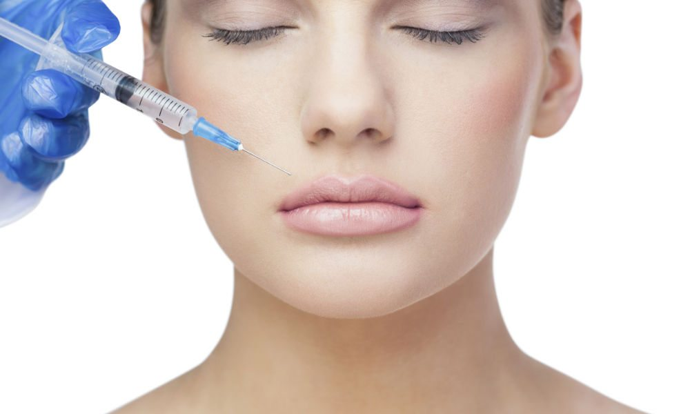 Dermal Fillers on patient